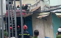 TP.HCM: Cháy nhà trong hẻm, nhiều người được giải cứu