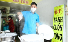 Cảnh tượng bất ngờ sau giờ chính Ngọ tại các cửa hàng kinh doanh tại vùng xanh Hà Nội
