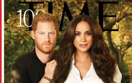 """Meghan Markle """"lấn át"""" Hoàng tử Harry trong khung hình ở bìa tạp chí Time, đằng sau đó còn là thông điệp sâu cay đến hoàng gia Anh"""