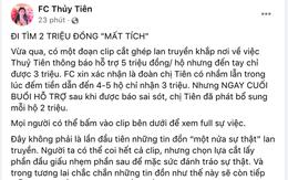 Phía Thuỷ Tiên chính thức lên tiếng làm rõ nghi vấn 'cắt xén' 2 triệu đồng/hộ trong chuyến cứu trợ miền Trung!