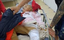 Hà Tĩnh: Sạt lở đất nghiêm trọng khiến 2 trẻ em bị thương