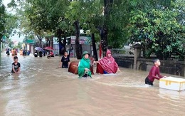 Nghệ An: Mưa lớn khiến nhiều địa phương bị thiệt hại, chia cắt
