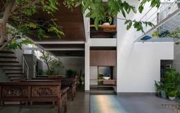 Ấn tượng với không gian sống của gia đình nhiều thế hệ trong ngôi nhà 2 tầng bọc tôn