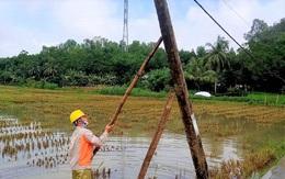Thanh Hóa: Khắc phục thiệt hại do mưa lớn kịp thời cấp điện cho khách hàng