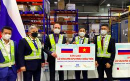Lô vaccine Sputnik V đầu tiên về Việt Nam