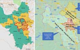 Hà Nội 'chốt' 15 quận, huyện thuộc 'vùng đỏ' phải thực hiện nghiêm ngặt theo Chỉ thị 16+