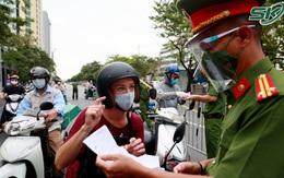 Từ ngày mai (4/9), 21 chốt kiểm soát chặt 'vùng đỏ' tại Hà Nội chính thức hoạt động