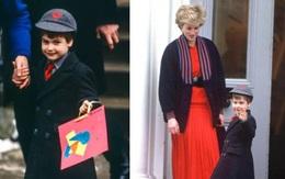 Bình luận đáng yêu của William vào ngày đầu tiên đi học