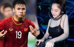 """DJ Kiều My nhắn nhủ đặc biệt tới cầu thủ Quang Hải trước trận cầu """"nảy lửa"""" sân Mỹ Đình"""