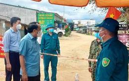 Khẩn trương truy vết các trường hợp liên quan đến gia đình có 5 F0 ở xã vùng cao Nghệ An