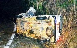 Xe ô tô tập lái lao xuống vực, 1 người chết