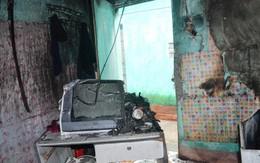 Quảng Ninh: Lửa thiêu trụi toàn bộ đồ đạc phòng trọ