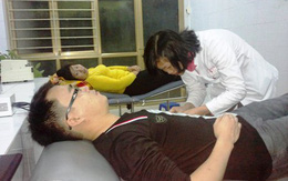 Bé gái bị xuất huyết được cứu sống bằng máu của thanh niên tình nguyện
