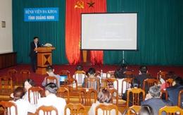 Quảng Ninh: Tập huấn xử trí ngộ độc rượu methanol