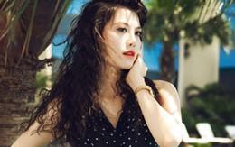 Người mẫu Đoàn Trang Nhung khoe chân dài, da trắng