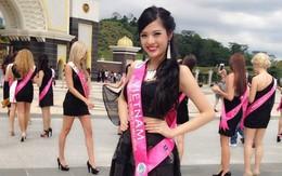 Người mẫu Hoàng Thu nổi bật ở cuộc thi Hoa hậu Du lịch quốc tế tại Malaysia