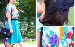 Rạng rỡ, tự tin với trang phục picnic cuối tuần