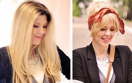 Tóc cực sành điệu với khăn Turban
