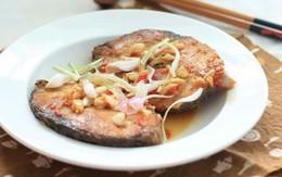 Cá thu rim mắm tỏi đậm đà cho bữa tối