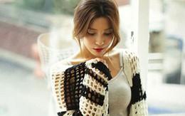 Mặc cardigan dáng dài phong cách, đủ ấm cho ngày se lạnh