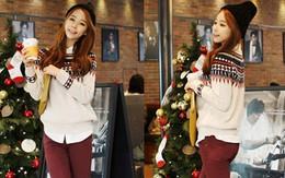 Áo len sành điệu cho mùa Noel