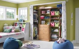 Mẹo sắp xếp tủ quần áo tiện dụng và ấn tượng