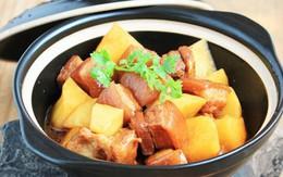 Thịt kho khoai tây đậm đà lạ miệng