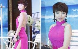 """Những chiếc váy xẻ gây """"thót tim"""" của sao Việt"""