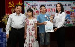 Tổng cục DS-KHHGĐ tổ chức Tết thiếu nhi 1/6