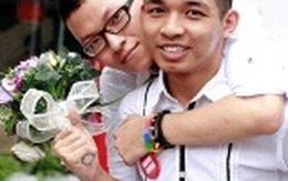 """""""Sốc"""" với đám cưới của 20 cặp đồng giới tại Hà Nội"""