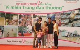 Gia đình NSND Thanh Hoa và Thái Thùy Linh hát ủng hộ miền Trung