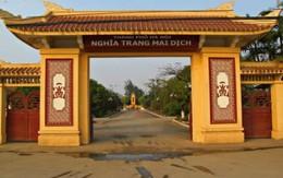 Đề xuất mở rộng Nghĩa trang Mai Dịch thêm 3.000m2