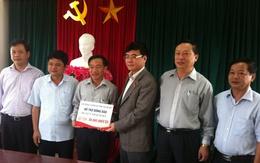 500 triệu đồng đã đến với bà con vùng bị bão lũ tỉnh Hà Tĩnh