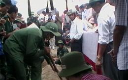 Quy tập thành công 164 hài cốt liệt sĩ tại Tống Lê Chân