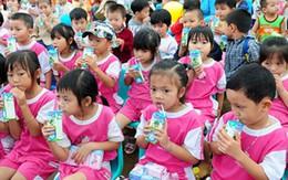 Sữa học đường giảm nhanh suy dinh dưỡng