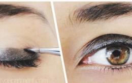 Trang điểm mắt cuốn hút với tông màu đỏ