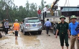 Tiếng gào thét kêu cứu từ chiếc xe chở Phó Giám đốc sở
