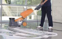 Làm sạch sàn gạch hiệu quả
