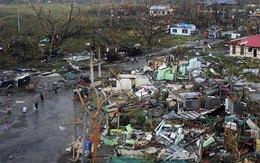 Philippines tan hoang sau siêu bão Haiyan