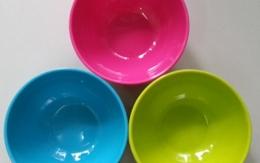 Nguy cơ nhiễm độc từ bát đĩa nhựa kém chất lượng