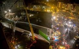 Kinh hoàng siêu thị sập nóc làm 43 người chết