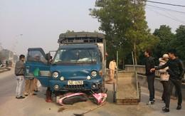Phát hiện người đàn ông say khướt trên cabin xe tải đâm chết người