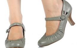 Sai lầm khi thường xuyên đi giày kín