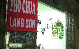 Thưởng thức phở chua Lạng Sơn giữa lòng phố cổ
