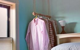 Cách treo quần áo tiết kiệm không gian