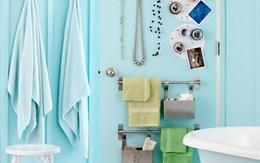 5 giải pháp lưu trữ thông minh cho nhà tắm nhỏ