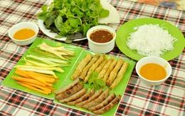 Đi ăn nem nướng Nha Trang phố Quán Thánh