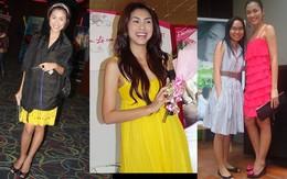Phong cách thời trang quyến rũ của Hà Tăng