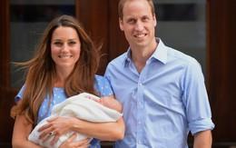 Hoàng tử bé của Anh ra mắt công chúng