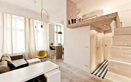 Nhà 20m² sống tiện nghi như khách sạn